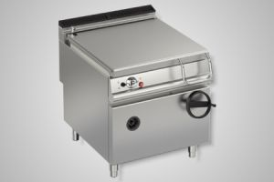 Baron bratt pan gas 80 litre capacity - Model 90BR/G80