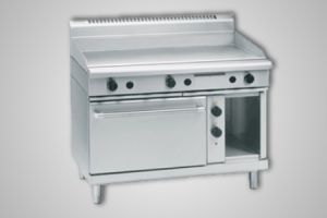 Waldorf 1200mm griddle electric static oven - Model GP8121GE