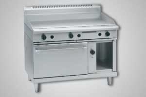 Waldorf 1200mm griddle electric convection oven - Model GP8121GEC