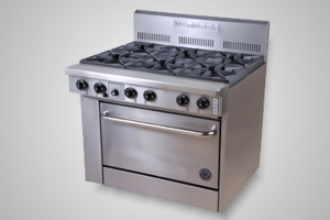 Goldstein oven range 6 burner - Model PF-6-28