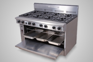 Goldstein oven range 8 burner - Model PF-8-40