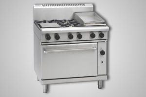 Waldorf 4 burner gas convection oven - Model RN8613GC