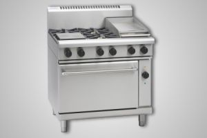 Waldorf 4 burner electric convection oven - Model RN8613GEC
