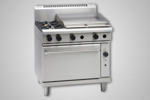 Waldorf 2 burner gas convection oven - Model RN8616GC