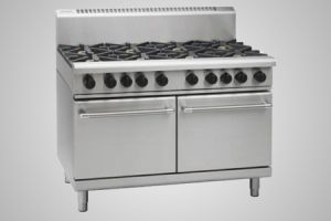 Waldorf 8 burner gas double static oven - Model RN8820G