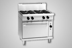 Waldorf extra wide 4 burner electric convection oven - Model RN8910GEC
